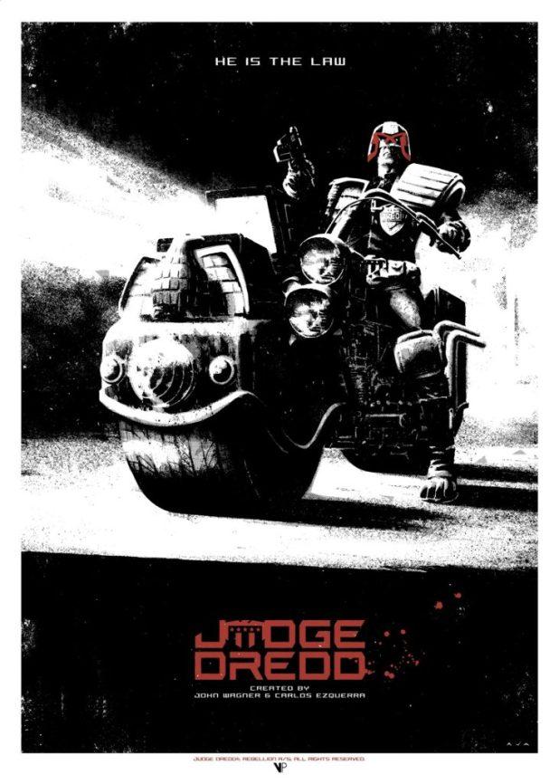 Judge Dredd by David Aja