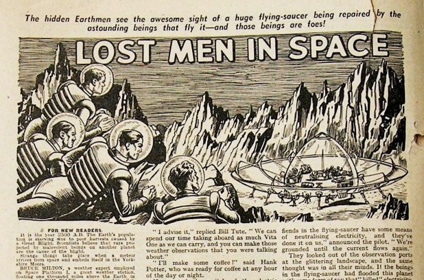 """Lost Men in Space"""