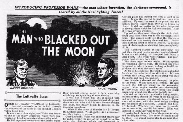 """The Man Who Blacked Out the Moon"""