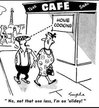 Andy Capp's first appearance. Copyright Daily Mirror