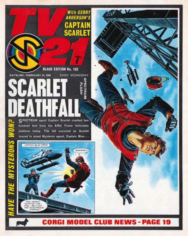 "TV21 Issue 162 Cover - ""Deathfall"""