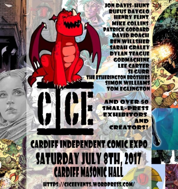 Cardiff Independent Comic Expo 2017 Poster