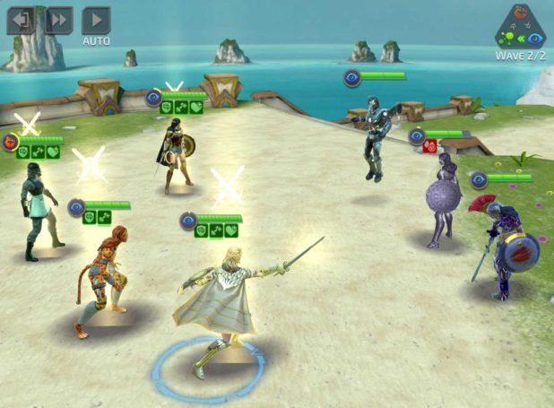 DC Legends - Wonder Woman Game Screen