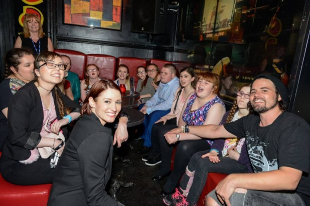 A bunch of very happy students in the audience! Photo courtesy Tim Quinn