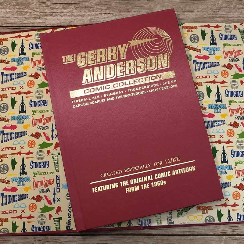 Personalised Gerry Anderson Collector's Edition Book
