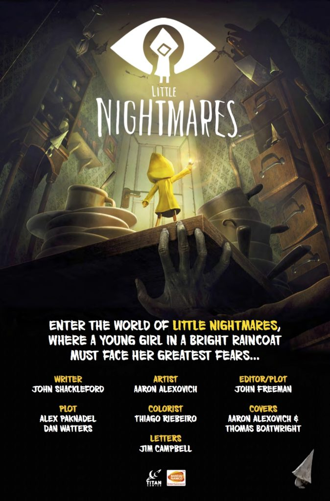 Little Nightmares #1 - Credits