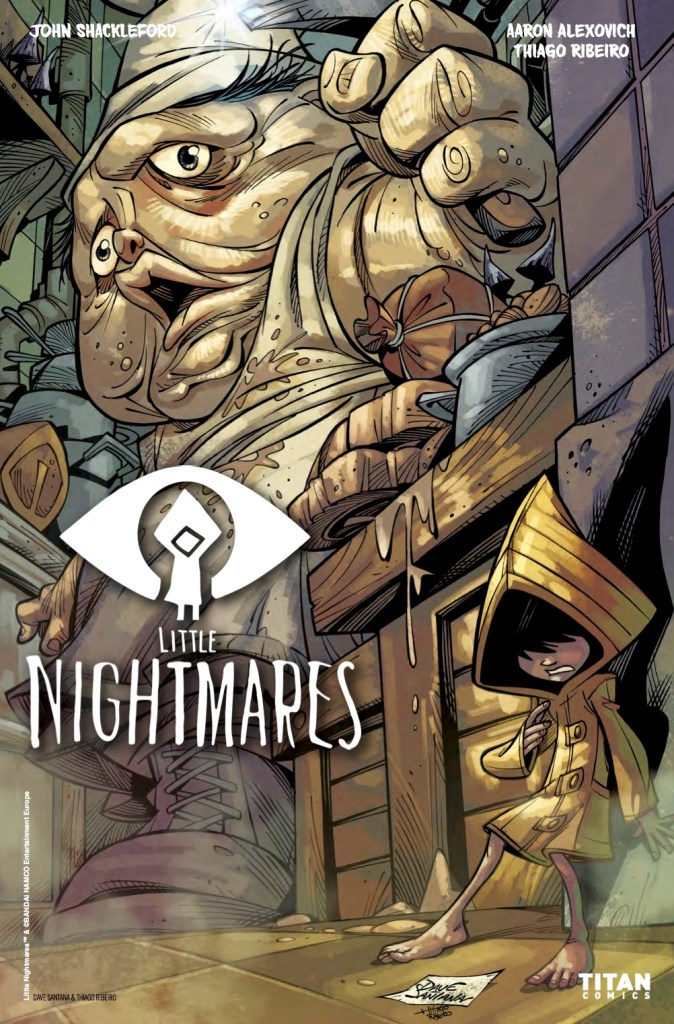 Little Nightmares #1 Cover D by Dave Santana