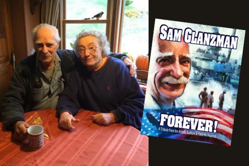 Sam Glanzman Forever GoFundMe banner