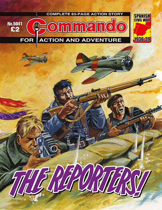 Commando 5041: Action and Adventure - The Reporters!
