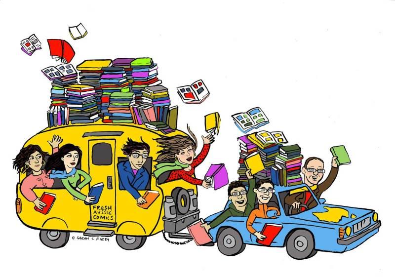 Caravan of Comics 2017 - Art by Sarah Firth