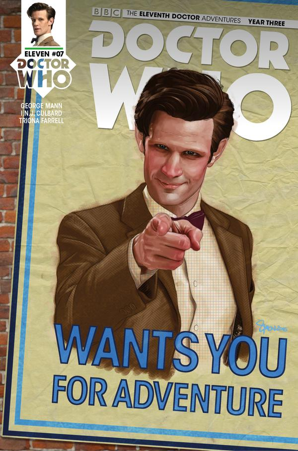 Doctor Who - The Eleventh Doctor Year 3 #7 Cover A by Simon Myers