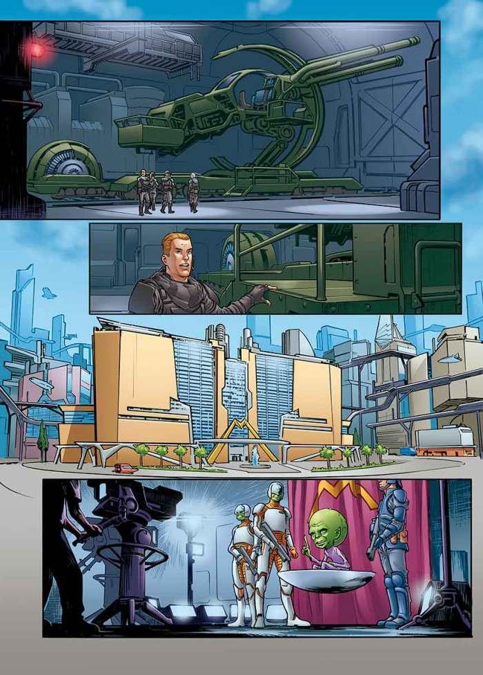 Dan Dare: Pilot of the Future #1 - Page 1