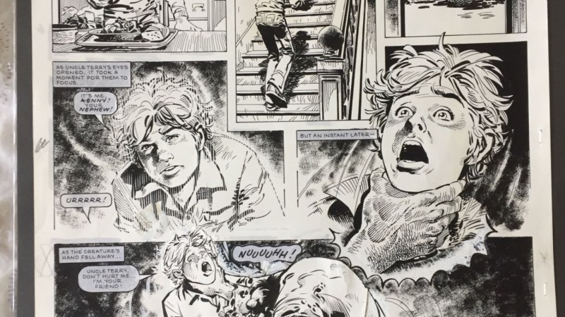 Spot the Difference: Scream comic art uncensored