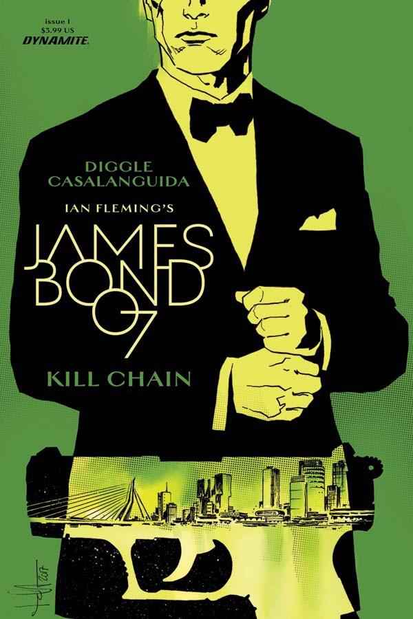James Bon Kill Chain #1 Cover C by Luca Casalanguida