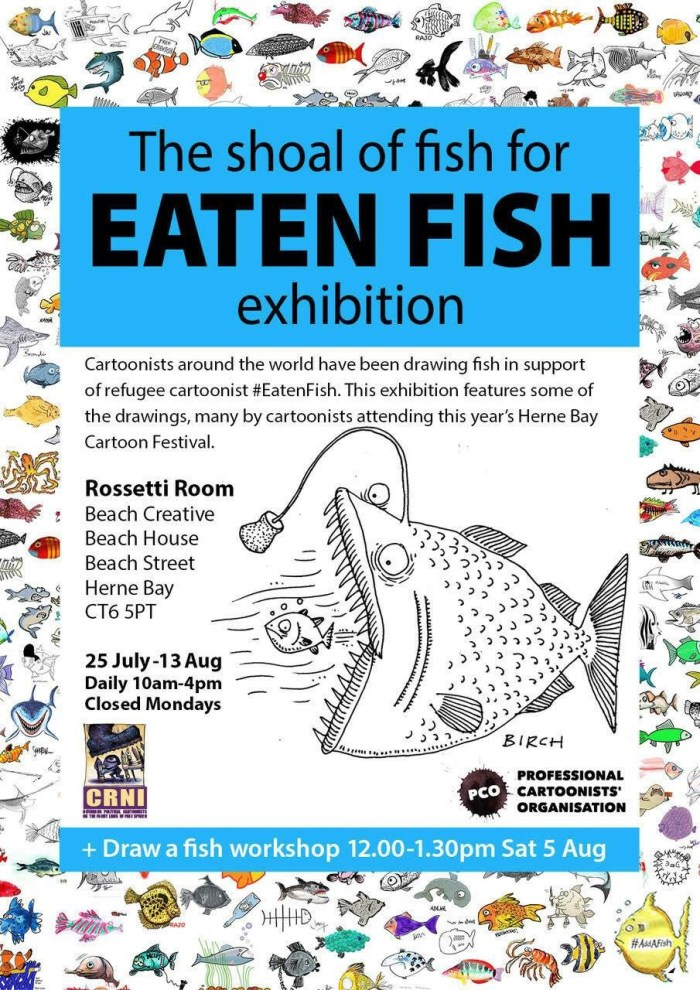 Eaten Fish Exhibition - Herne Bay 2017