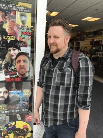 Incredible Comic Shop - Vince Hunt