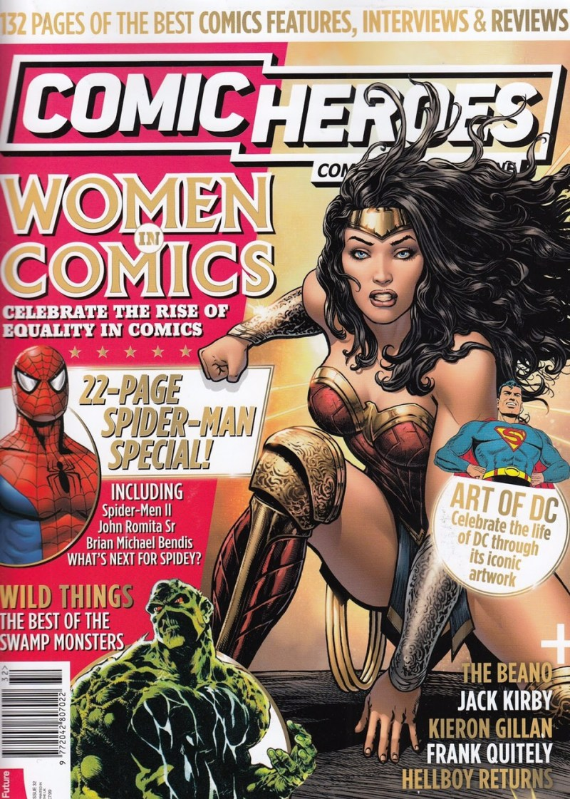 Comic Heroes Issue 32 - Cover