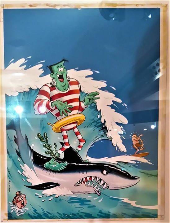 Frankie Stein cover art by Robert Nixon. Photo: Peter Hansen