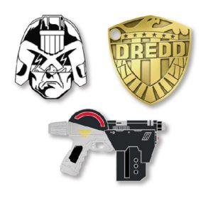 Yesterdays.co Dredd Pins (Badge)