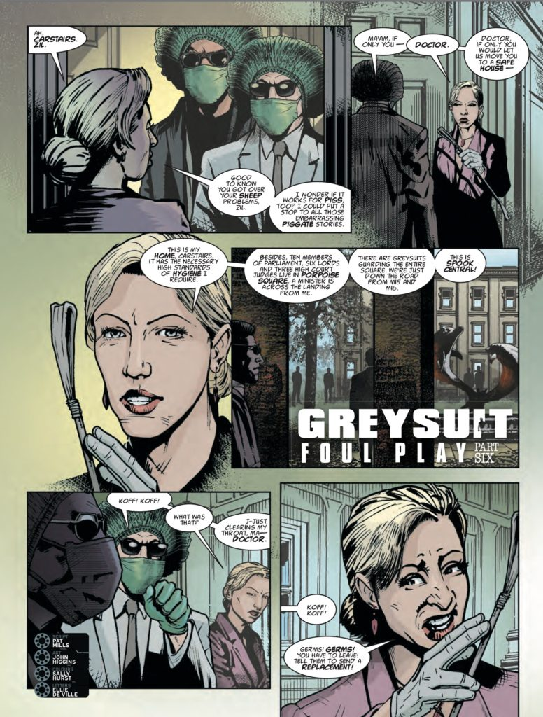 2000AD 2045 - Greysuit - Foul Play (Part 6)
