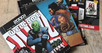 2000AD - The Ultimate Collection Issue One - Pack Shot