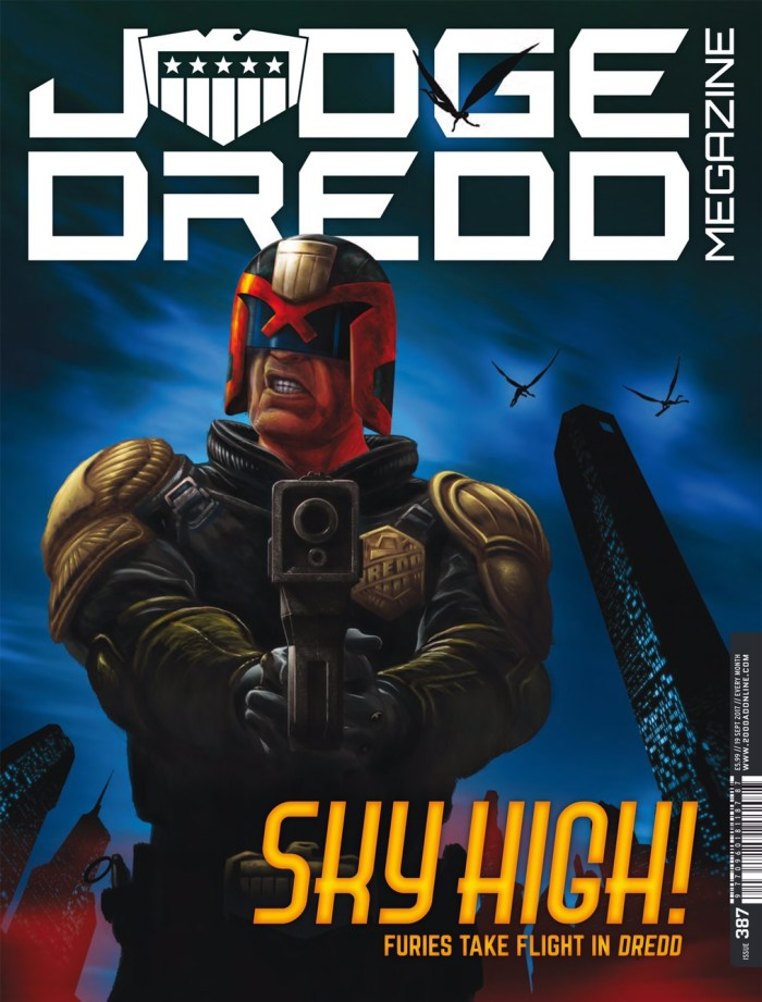 Judge Dredd Megazine 387 - Cover