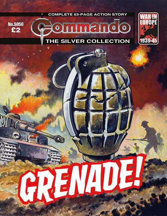Commando 5050: Silver Collection: Grenade!