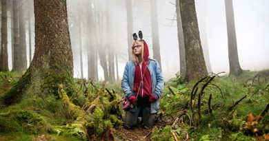 Madison Wolfe as Barbara Thorson in I Kill Giants. Image: XYZ Films