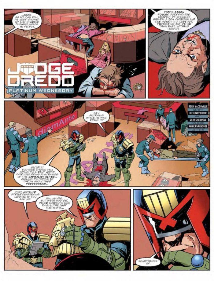 Judge Dredd Megazine 387 - Judge Dredd