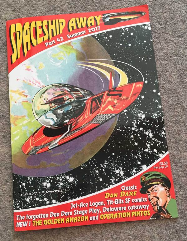 Spaceship Away Issue 42 - Cover