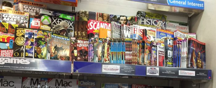 """Panini and Titan Comics """"digest"""" titles, collecting DC and Marvel comic strips, are poorly displayed"""