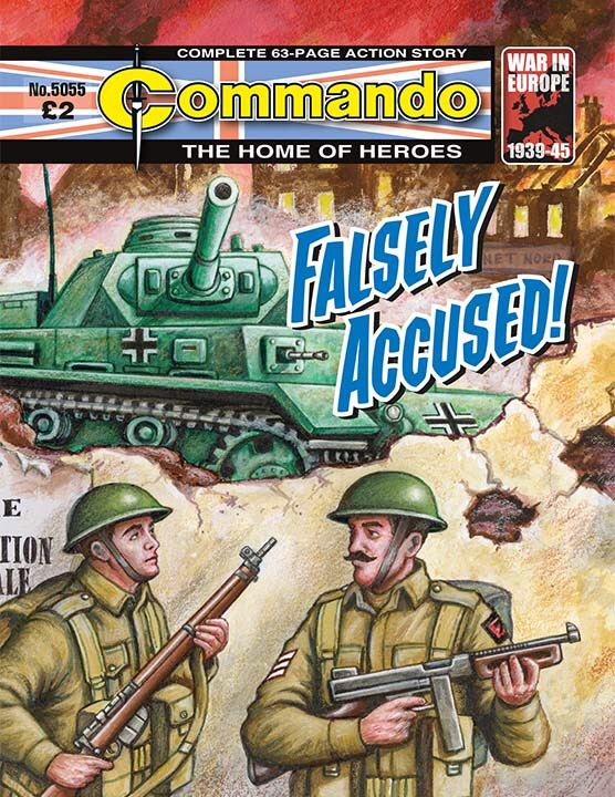 Commando 5055: Home of Heroes: Falsely Accused