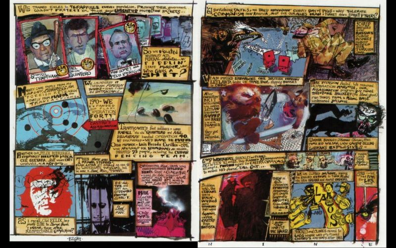 A spread from Brought to Light