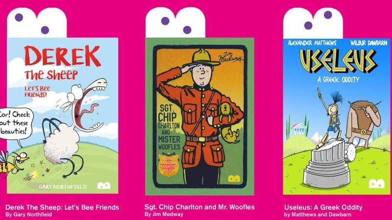 London's GOSH Comics to host Bog-Eyed Books Launch, Orbital Comics to host Big Comic Draw