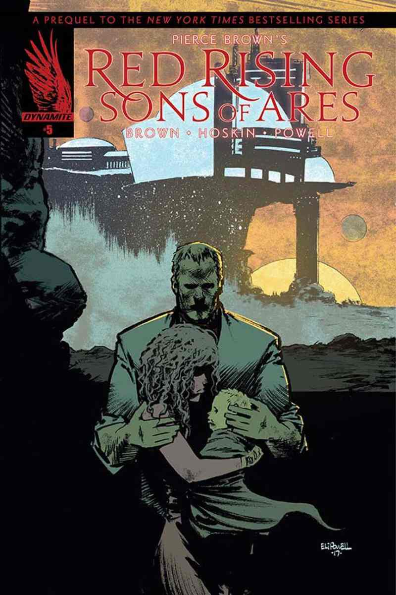 Red Rising - Son of Ares #5 - Cover B by Eli Powell