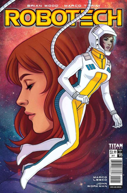 Robotech #5 Cover A: Jen Bartel