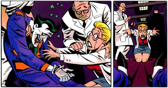 Art from Batman Adventures: Mad Love