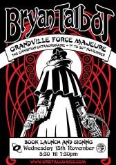 Grandville: Force Majeure - Orbital Comics Signing Poster