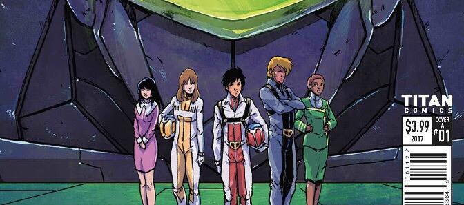 Titan Comics Robotech #1 Goes To Third Printing