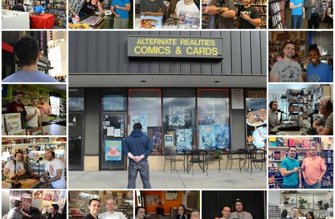 My Comic Shop Country Film Promotional Images