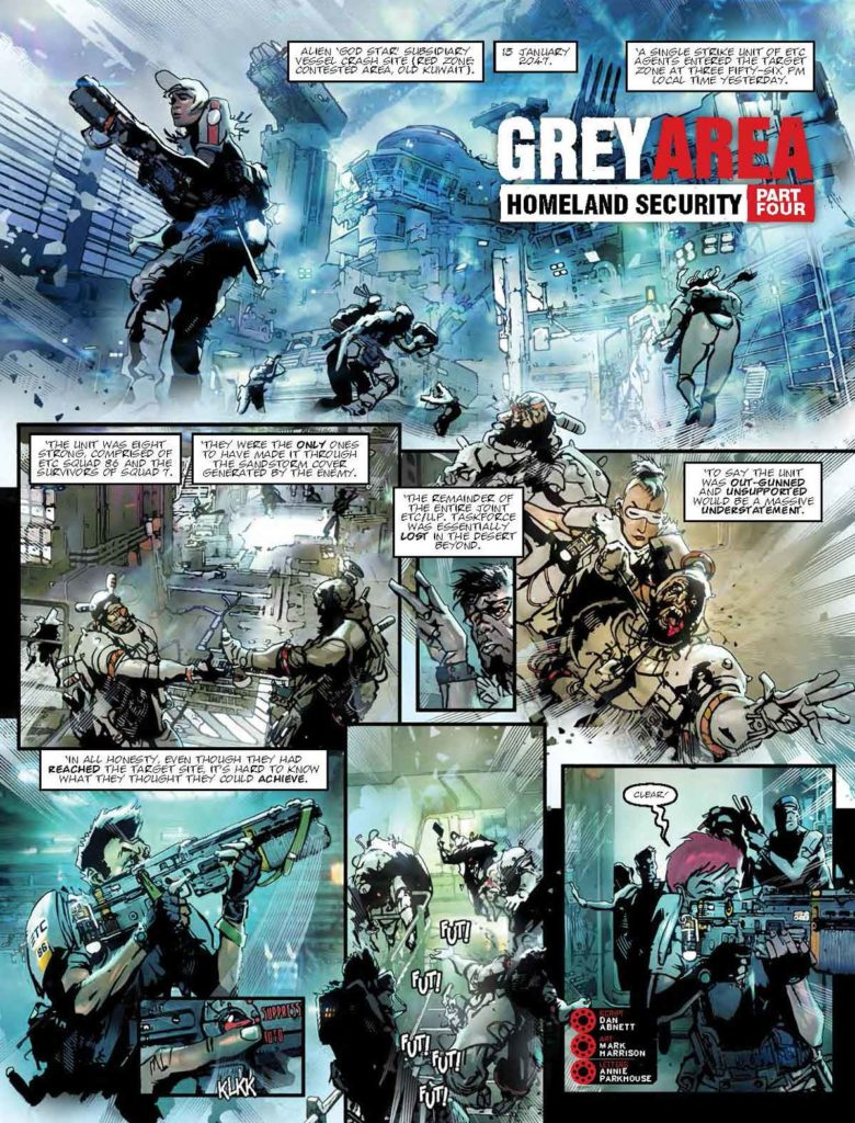 2000AD Prog 2053 - Grey Area