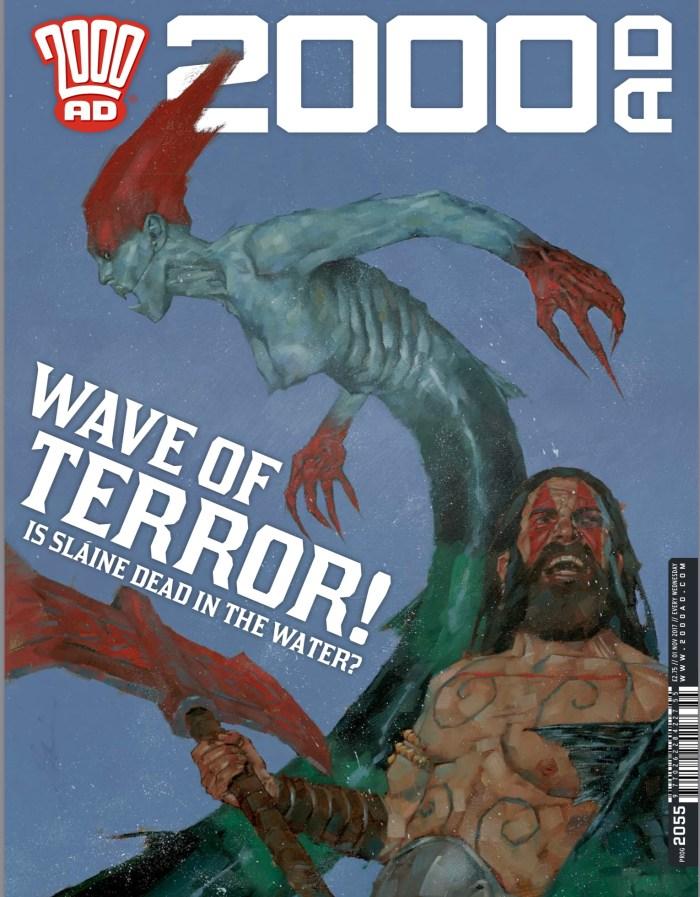 2000AD Prog 2055 - Cover