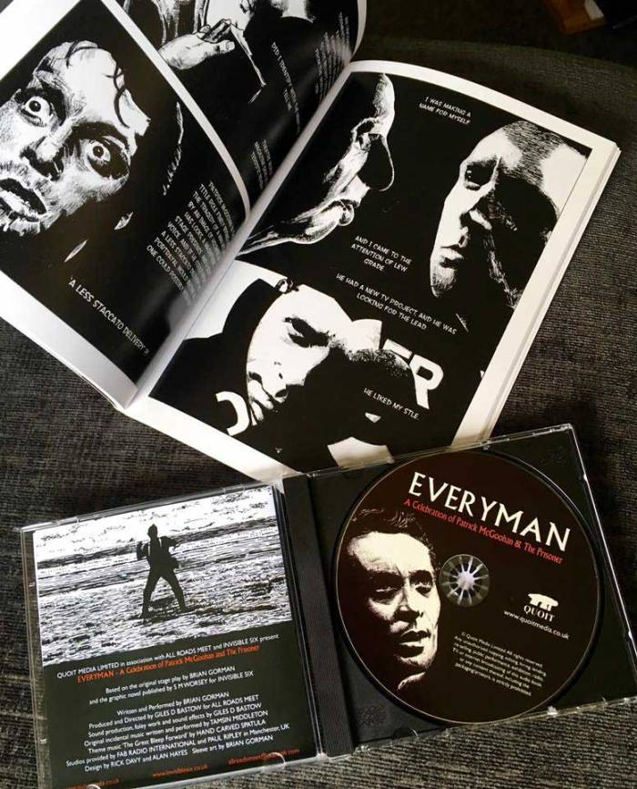 Everyman Graphic Novel and CD