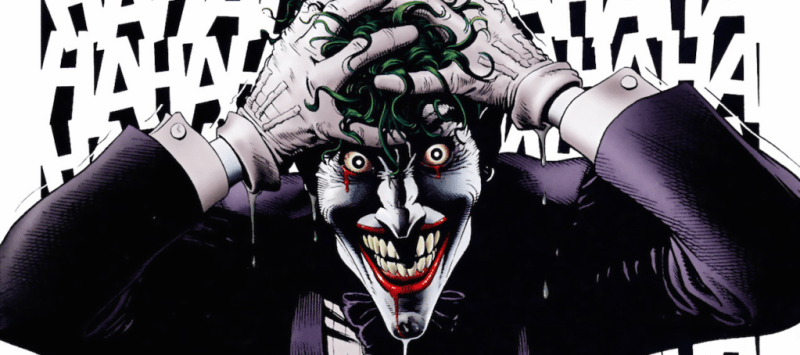 Art by Brian Bolland from The Killing Joke
