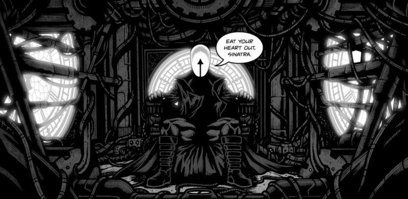Midnight Man - Gunspace Art