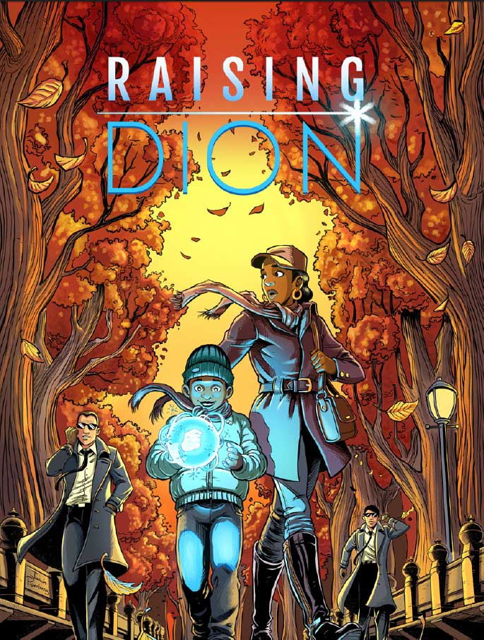 Raising Dion - Cover