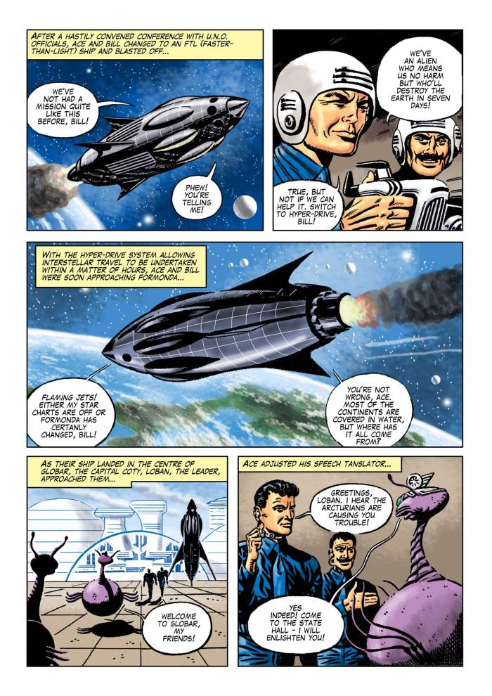 Space Ace Volume 9 - Fire Ship