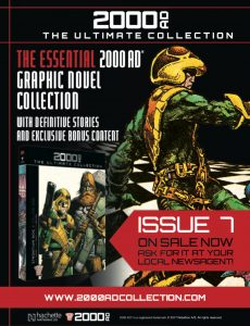 2000AD Ultimate Collection Issue 7 Ad