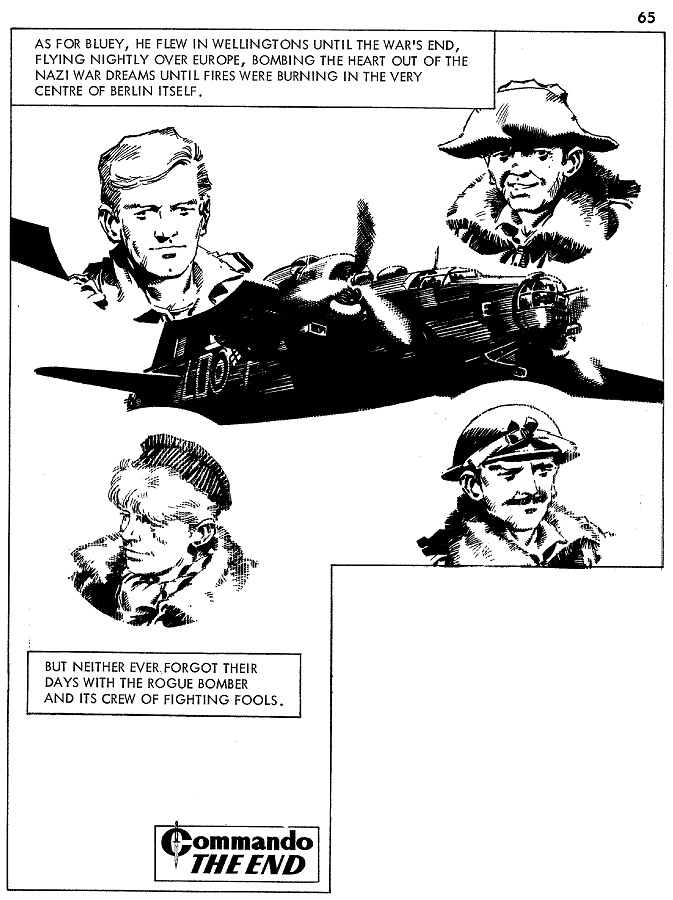Cam Kennedy's strip work for Commando 469
