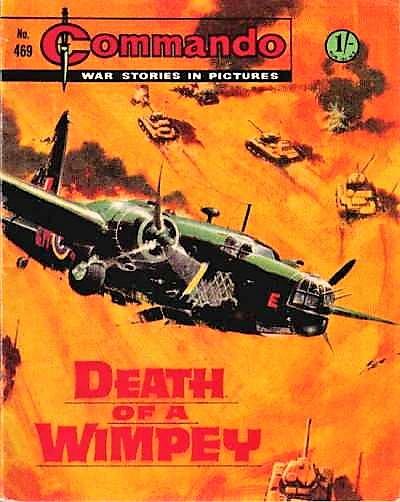 Commando 469 - Cover